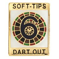 GLD 6 Darts Out   Soft Tip