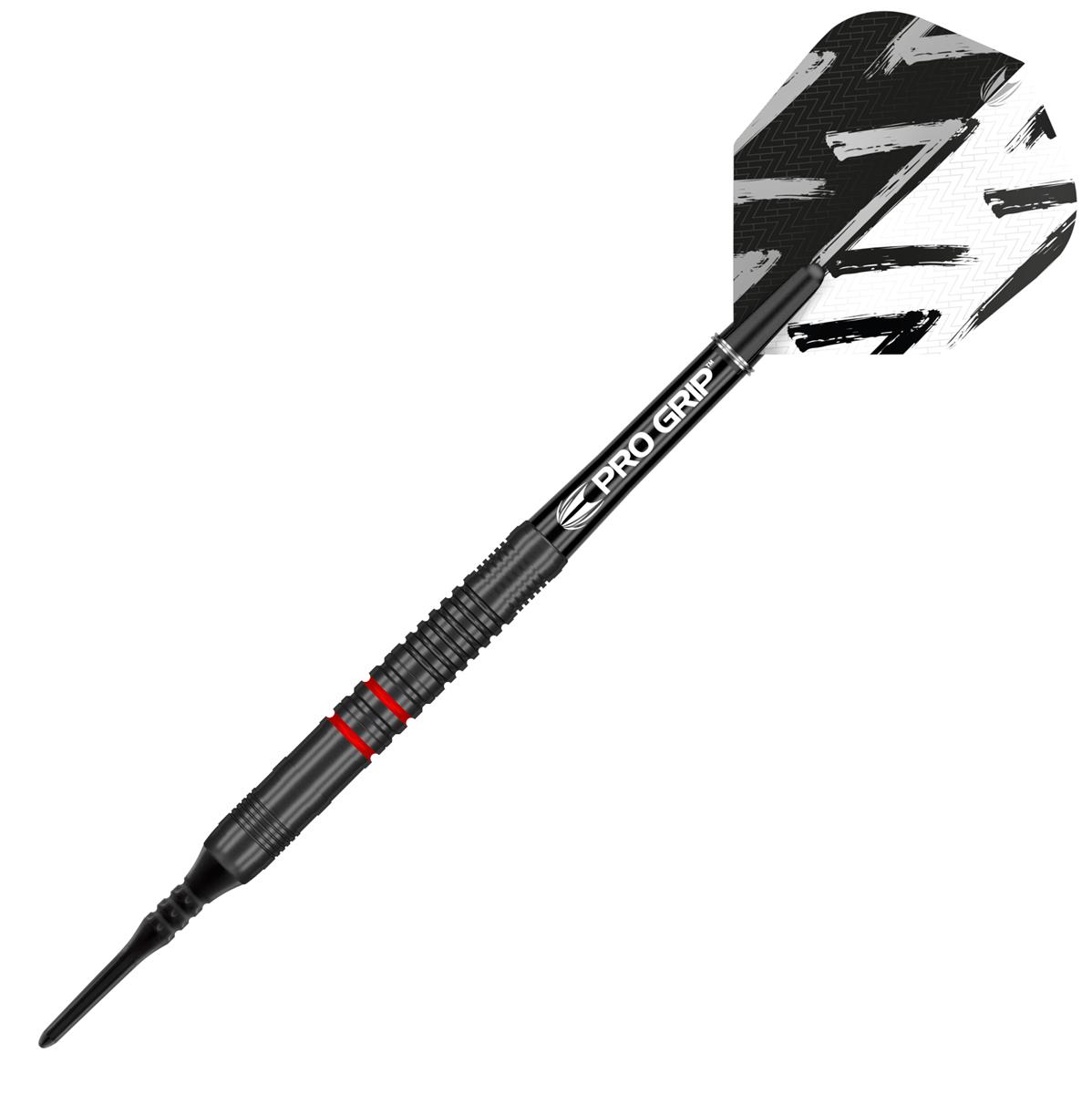 Target Darts Vapor Z Red 80% Tungsten 17 grams