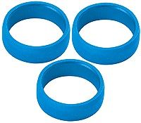 Target Darts Slot Lock Rings - Blue