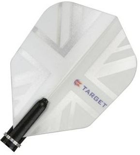 Target Darts White Union Jack - Pro 150 Flight Standard