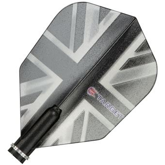 Target Darts Black Union Jack - Pro 150 Flight Standard