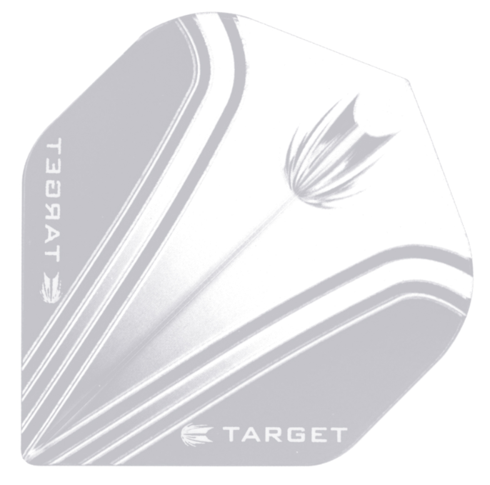 Target Darts Pro 100 Vision White & Clear - Standard
