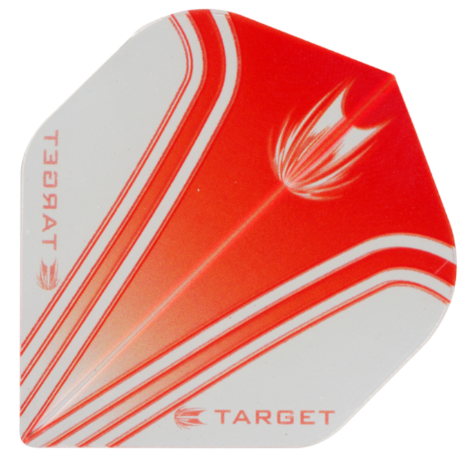 Target Darts Pro 100 Vision Red & Clear - Standard