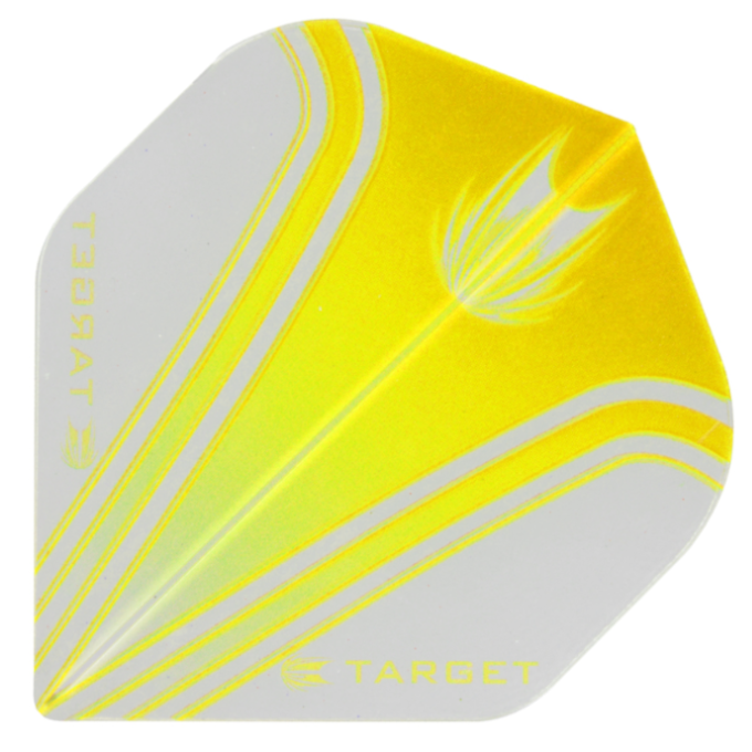 Target Darts Pro 100 Vision Yellow & Clear - Standard