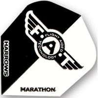Harrows Marathon F.A.T. - Black & White  Standard