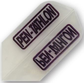 Dart World Pentathlon - Clear Slim