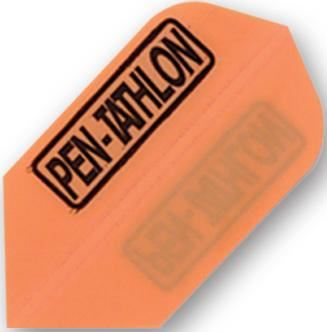 Dart World Pentathlon - Orange Slim