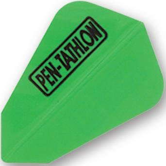 Dart World Pentathlon - Lime Green Fantail