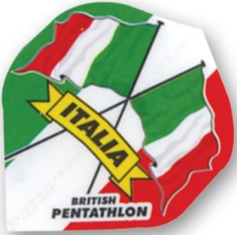 Dart World Pentathlon - Italia Flag Standard