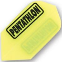 Dart World Pentathlon - Yellow Slim