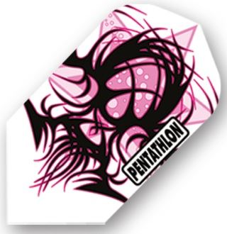 Dart World Pentathlon - Pink and Black Tribal Slim
