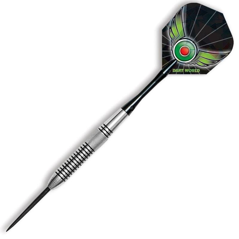 Dart World Sharp Shooter - Knurl and Groove Cut 80% Tungsten 25 grams