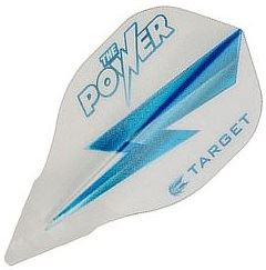Target Darts White and Blue Lightning Bolt Phil Taylor - Vision Edge  Bullet