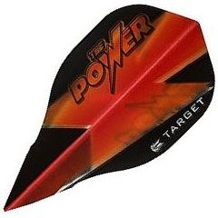 Target Darts Black and Red Power Phil Taylor - Vision Edge Bullet