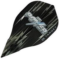 Target Darts Black and Grey Power - Vision Edge  Bullet