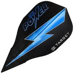 Target Darts Black with Blue Lightning Bolt Power - Vision Edge Bullet