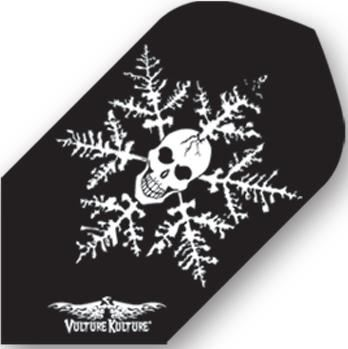 Dart World Vulture Kulture® Skull in Snowflake  Slim