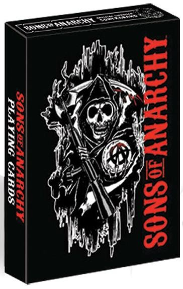 Dart World Sons of Anarchy™ Playing Cards