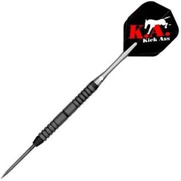 """Bottelsen Kick Ass™ Black Steal™ 9/32"""" Edge Grip™ 90% Tungsten 28 grams"""