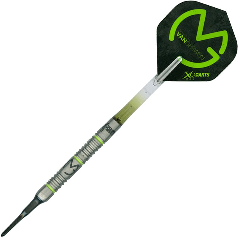 Shot XQMax Michael Van Gerwen Green Demolisher 70% Tungsten 20 grams