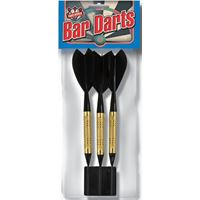 Dart World Bar Darts - Black