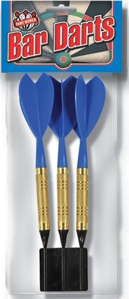 Dart World Bar Darts - Blue