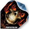 Dart World Pentathlon - Flaming Skull Standard