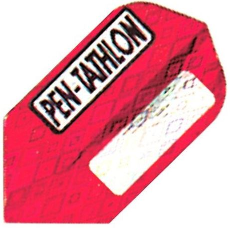 GLD Pentathlon - Red and Silver  Slim