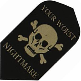 GLD Poly - Your Worst Nightmare Skull & Crossbones Slim