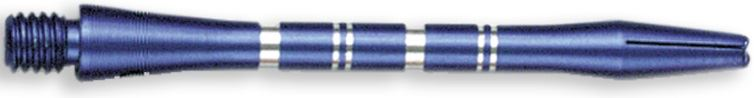 Dart World Color Master Shafts Blue - Medium