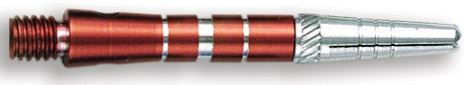 Dart World Top Spin Grooved Shafts Red - Short