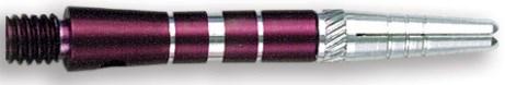 Dart World Top Spin Grooved Shafts Purple - Short