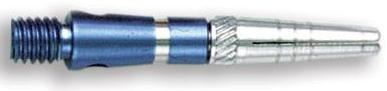 Dart World Top Spin Grooved Shafts Blue - Extra Short
