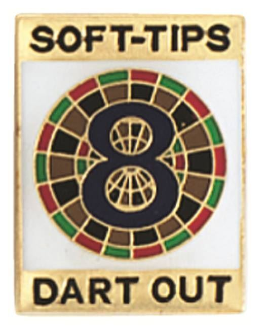 GLD 8 Darts Out Soft Tip