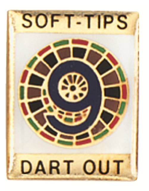 GLD 9 Darts Out Soft Tip