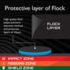 Protective Layer of Flock