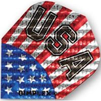 Dart World Dimplex USA Flag Standard