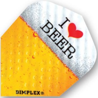 Dart World Dimplex I Love Beer Standard