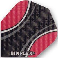 Dart World Dimplex Red and Black Standard