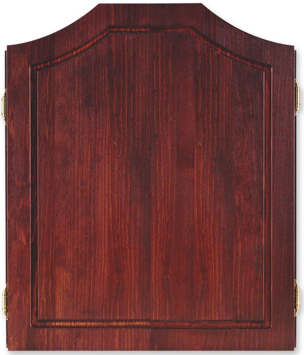 Dart World Pine Cabinet Mahogany Stain