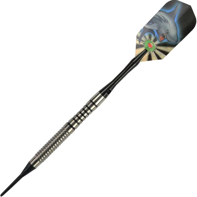 Dart World Shark Fin - Reverse/Back Cut 80% Tungsten 20 grams