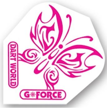 Dart World G-Force - Pink Butterfly Clear Standard