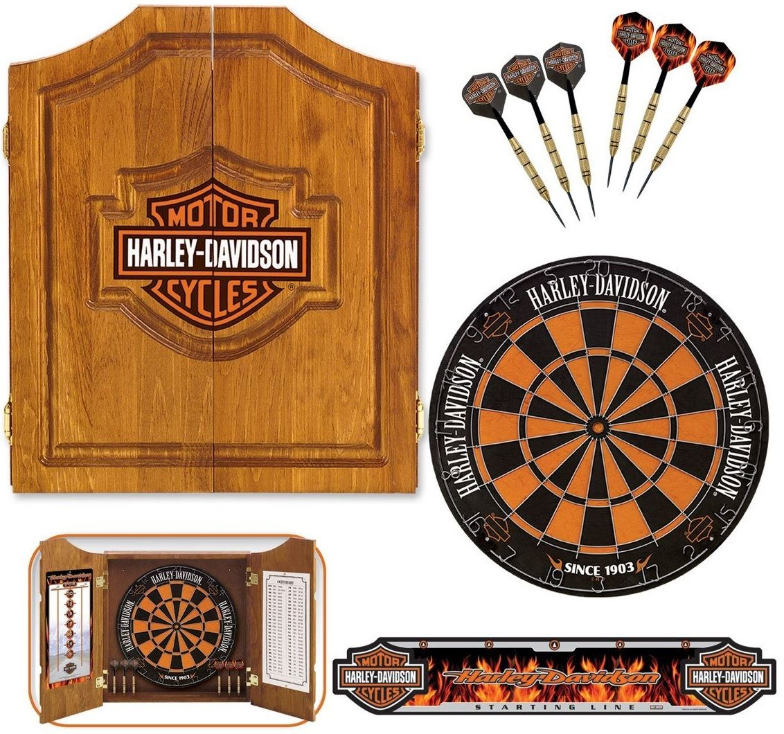 Harley Davidson® Bar & Shield Dart Set