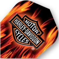 Dart World H-D® Flame Standard