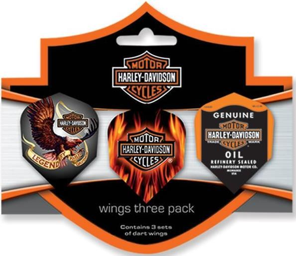 Dart World H-D® Wings Three Pack - Standard