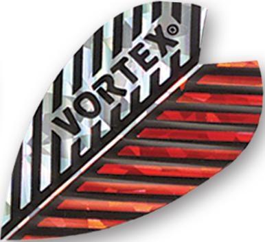 Harrows Vortex - Silver & Red Feather