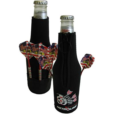 Metroline Dart Beer Koozie (Bottle)