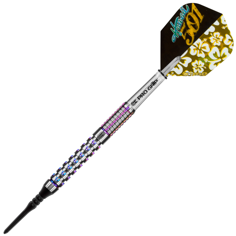 Target Darts Wayne Mardle Hawaii 501 Gen2 90% Tungsten 19 grams
