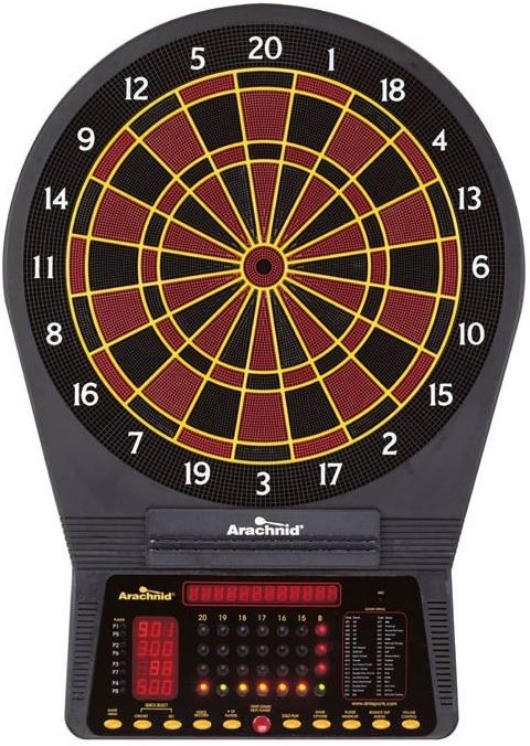 Arachnid Cricket Pro 750 Dartboard Tournament Series