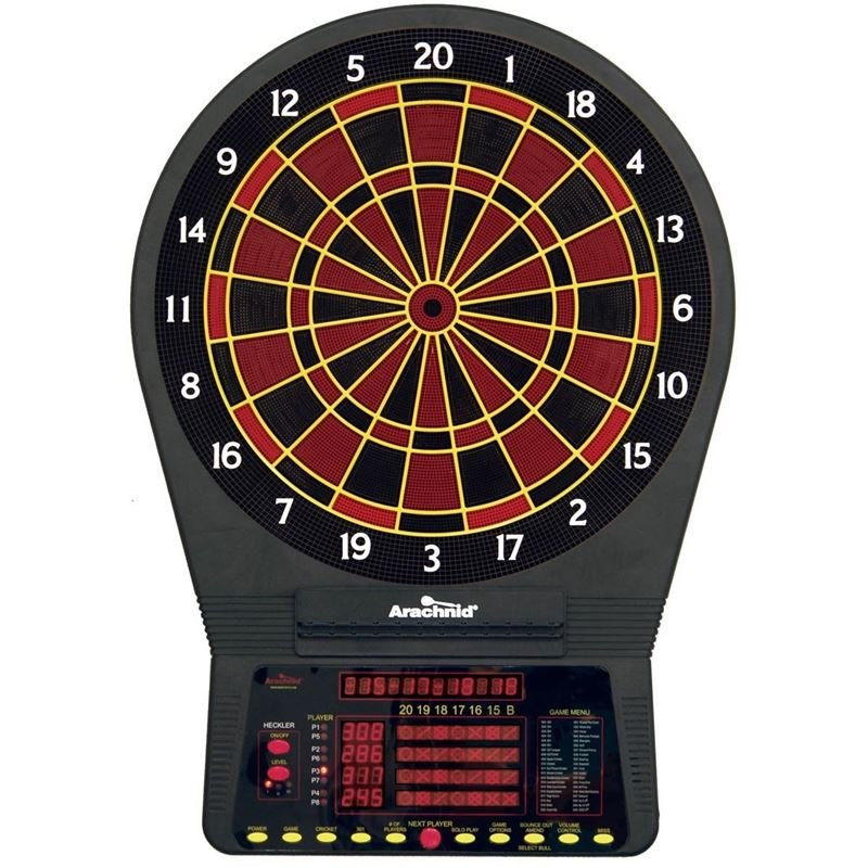 Arachnid Cricket Pro 800 Dartboard Tournament Series